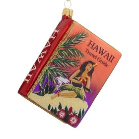 Personalized Travel Guide For Hawaii Christmas Ornament