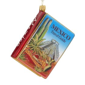 Travel Guide For Mexico Christmas Ornament
