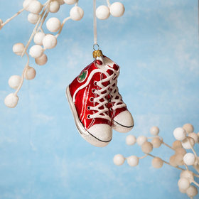 High Top Sneakers Christmas Ornament