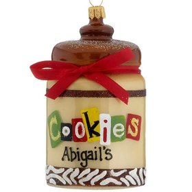 Personalized Cookie Jar Christmas Ornament