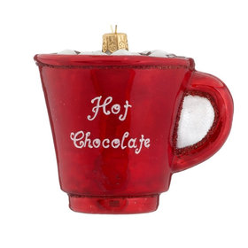 Hot Chocolate Christmas Ornament