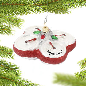 Personalized Drone Christmas Ornament