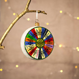 Wheel of Fortune Christmas Ornament