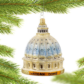 Vatican Dome Christmas Ornament