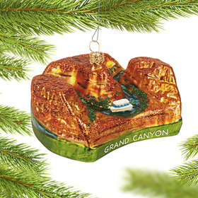 Personalized Grand Canyon Christmas Ornament