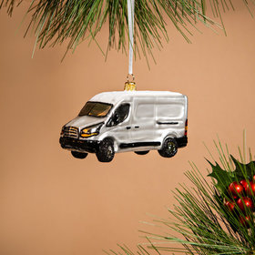 Personalized Delivery Van Christmas Ornament