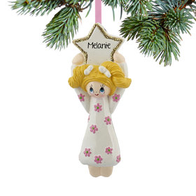 Personalized Flower Girl Christmas Ornament