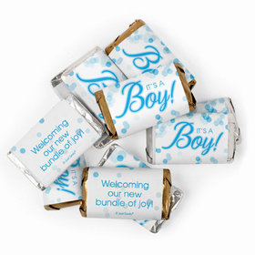It's a Boy Baby Shower Candy Hershey's Miniatures Chocolate