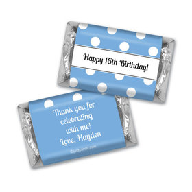 Birthday Personalized Hershey's Miniatures Polka Dot