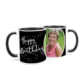 Personalized Birthday Colorful Stars 11oz Mug