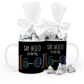 Birthday Big 5-0 11oz Mug with Hershey's Kisses