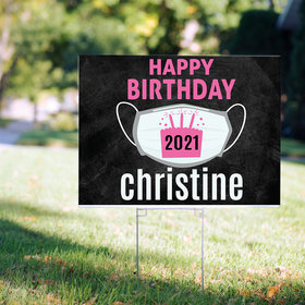 Personalized Birthday Yard Sign