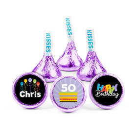 Personalized Birthday Surprise Hershey's Kisses (50 pack)