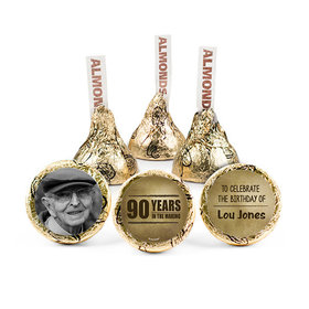 Personalized Milestone 90th Birthday Years in the Making Hershey's Kisses (50 pack)