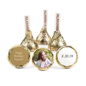 Personalized Birthday Sweet 16 Photo Pattern Hershey's Kisses (50 pack)
