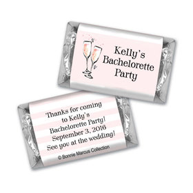 Bonnie Marcus Collection Chocolate Candy Bar and Wrapper The Bubbly Custom Bachelorette Party