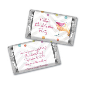 Bonnie Marcus Collection Chocolate Candy Bar and Wrapper Here's to You Bachelorette Party
