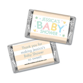 Personalized Bonnie Marcus Sweet Baby Shower Hershey's Miniatures