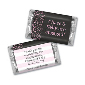 Bonnie Marcus Collection Chocolate Candy Bar and Wrapper Sweetheart Swirl Engagement
