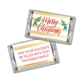 Personalized Bonnie Marcus Christmas Chic Hershey's Miniatures
