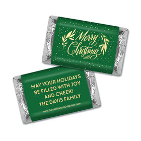 Personalized Bonnie Marcus Festive Leaves Hershey's Miniatures