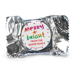 Personalized Bonnie Marcus Christmas Very Merry York Peppermint Patties