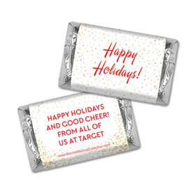 Personalized Bonnie Marcus Christmas Holiday Celebration Hershey's Miniatures