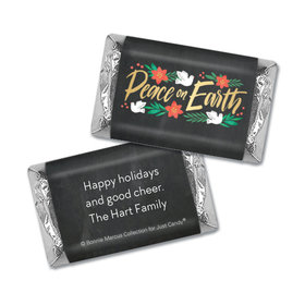 Personalized Bonnie Marcus Christmas Peace on Earth Hershey's Miniatures