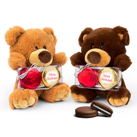 Teddy Bear with Chocolate Covered Oreo 2pk - Shimmering Pines