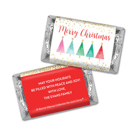 Personalized Bonnie Marcus Christmas Shimmering Pines Mini Wrappers Only