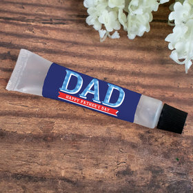 Hand Sanitizer Tube 0.5 fl. oz. - Personalized Father's Day Plaid