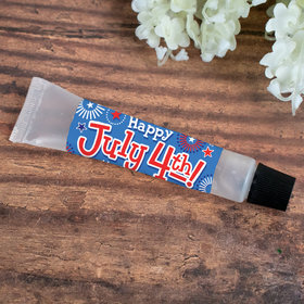 Promotional Hand Sanitizer Tube 0.5 fl. oz. - 4th of July