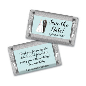 Bonnie Marcus Collection Chocolate Candy Bar and Wrapper Forever Together Save the Date Favor