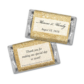 Personalized Bonnie Marcus Wedding All That Glitters Hershey's Miniatures