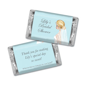 Personalized Bonnie Marcus Bridal Shower Bride to Be Hershey's Miniatures