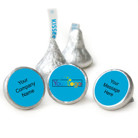 Business Promotional Personalized Hershey's Kisses Your Logo Assembled Kisses (50 Pack)