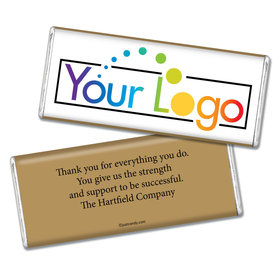 Business Promotional Personalized Chocolate Bar Your Logo