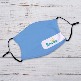 Personalized Add Your Logo Adult Face Mask