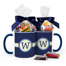 Personalized Baby Shower Initial 11oz Mug with Hershey's Miniatures