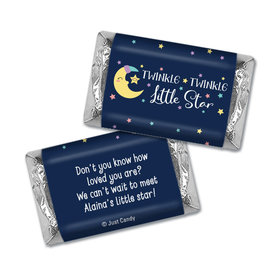 Baby Shower Personalized Hershey's Miniatures Little Star