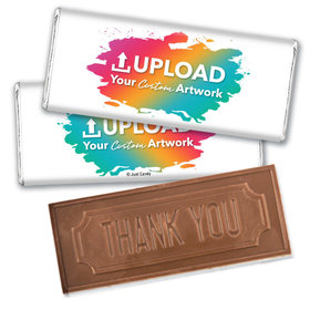 Personalized Business Promotional Your Logo Embossed Chocolate Bar & Wrapper