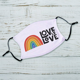 Love is Love Adult Face Mask