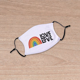 Love is Love Youth Face Mask