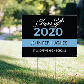 Personalized Graduation Yard Sign Class of 2020