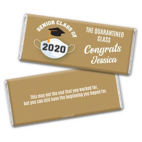 Personalized Quarantine Graduation Chocolate Bar Wrappers Only