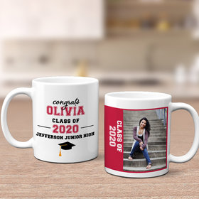 Personalized Graduation Photo 11oz Mug Empty