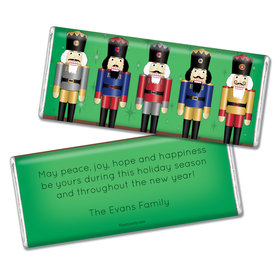 Christmas Personalized Chocolate Bar Nutcrackers
