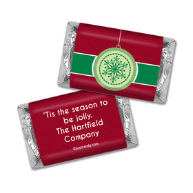 Christmas Personalized Hershey's Miniatures Wrappers Merry Christmas Traditional