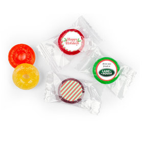 Personalized Christmas Candy Cane Life Savers 5 Flavor Hard Candy