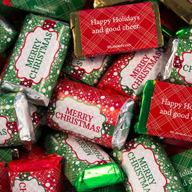 Non Personalized Merry Christmas Hershey's Miniatures